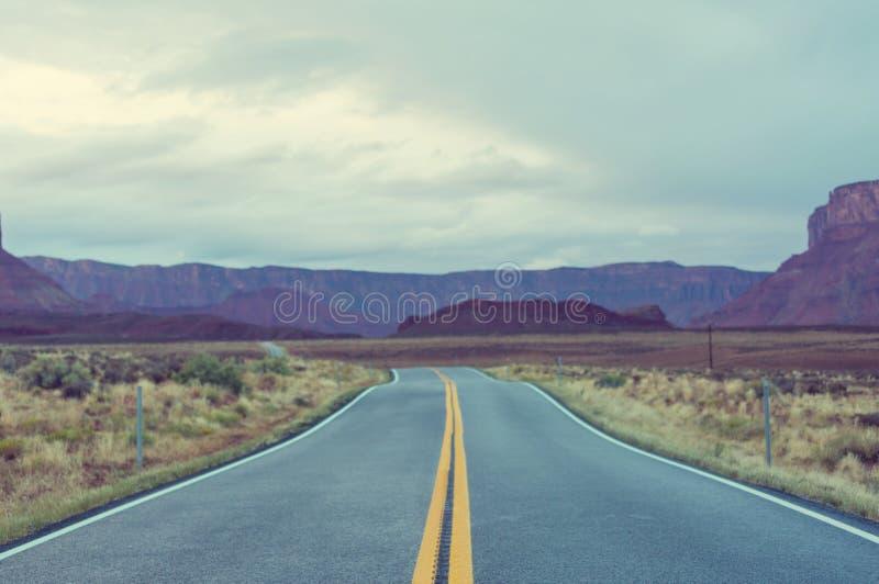 Droga w prerii zdjęcia stock