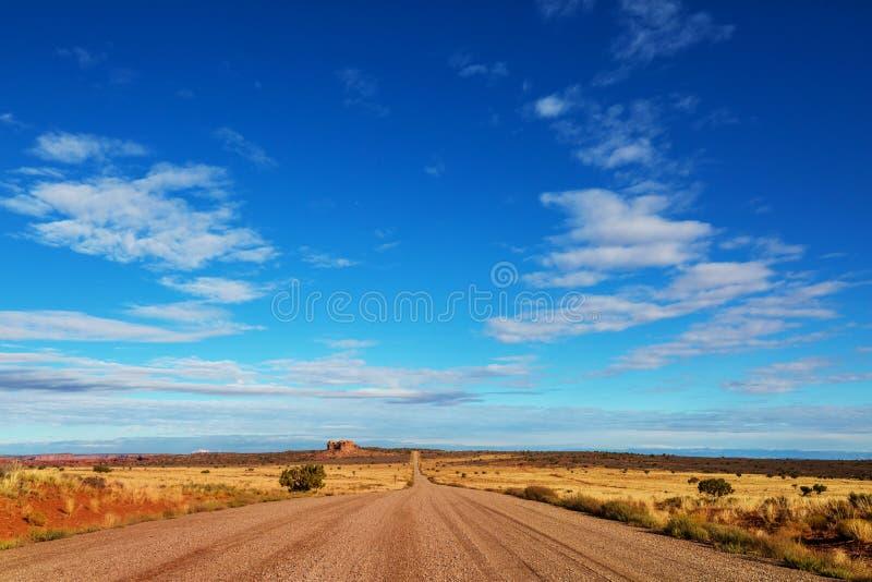 Droga w prerii zdjęcie stock