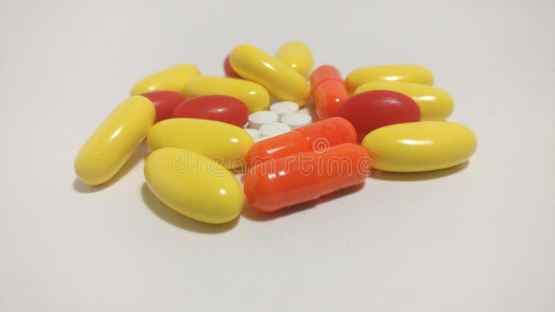 Drogas coloridas fotos de archivo