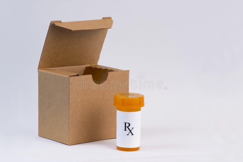 Drogas del pedido por correo foto de archivo