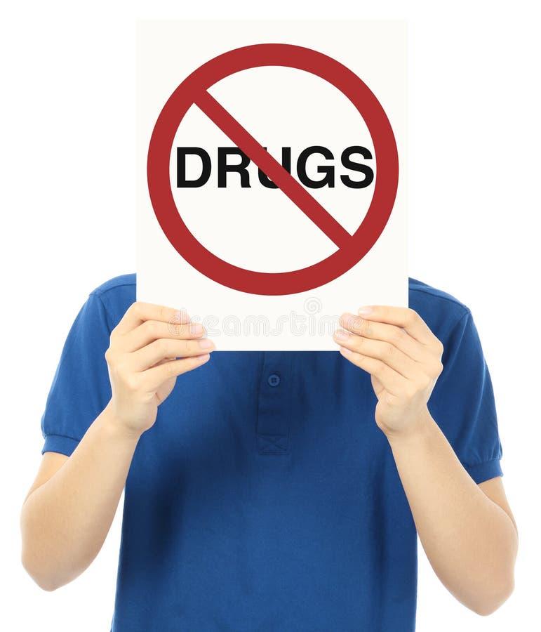 Drogas não permitidas fotos de stock royalty free