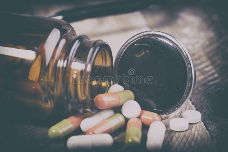 Drogas para la prevención de enfermedades fotos de archivo libres de regalías