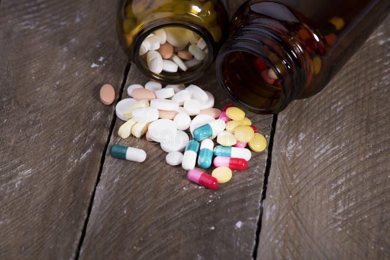 Drogas para a prevenção das doenças foto de stock