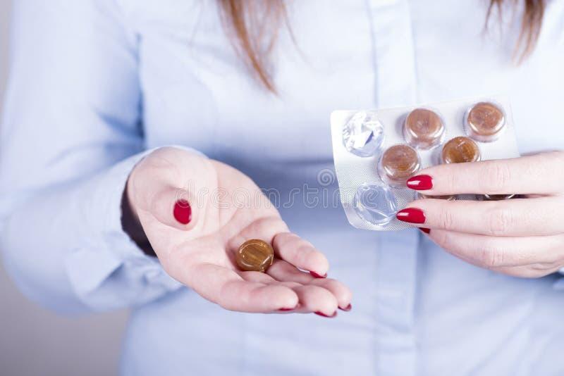 Drogas para a prevenção das doenças imagem de stock