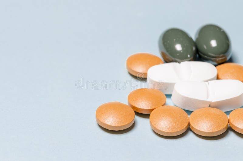 Drogas y píldoras imagen de archivo