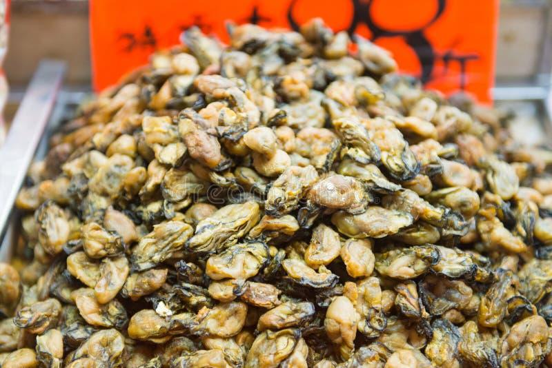 Droge abalone voor Chinese geneeskunde royalty-vrije stock afbeelding