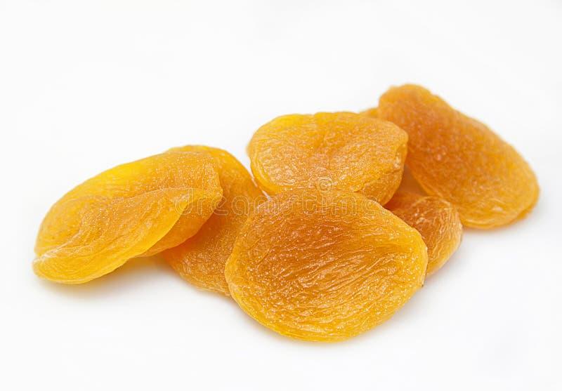 Droge abrikozen stock foto's