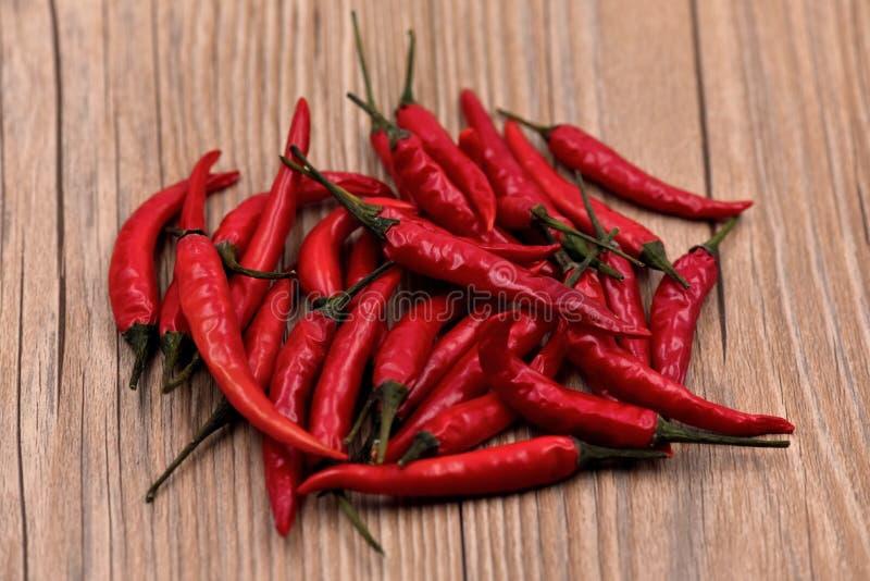 Droge Spaanse peperspeper stock afbeelding