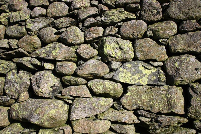 Droge steenmuur, Cumbria royalty-vrije stock fotografie