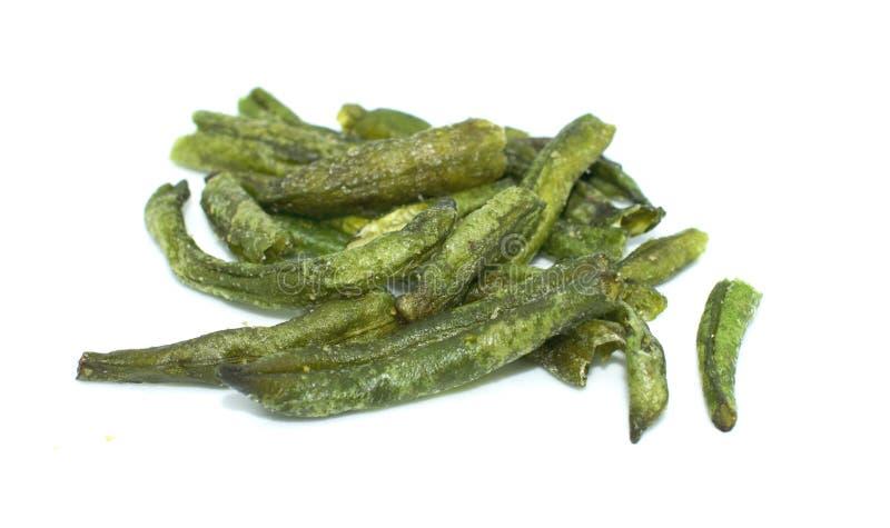 Droge taro op achtergrond - gezonde vruchten groente fooddried gemeenschappelijke boon op achtergrond - gezond vruchten groentevo stock fotografie