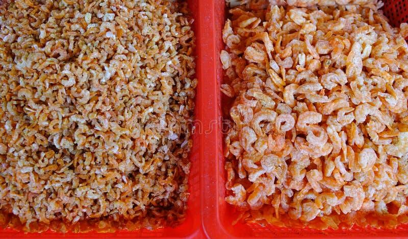 Droge zeevruchten bij de markt royalty-vrije stock foto's
