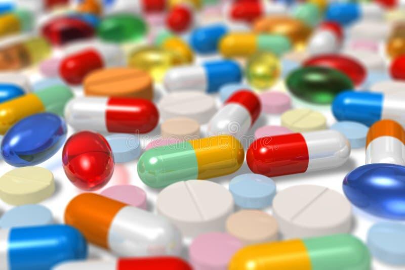 Drogen stock abbildung