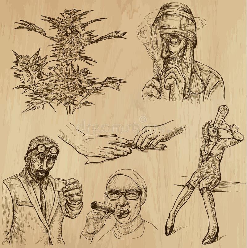 Drogen 1 lizenzfreie abbildung