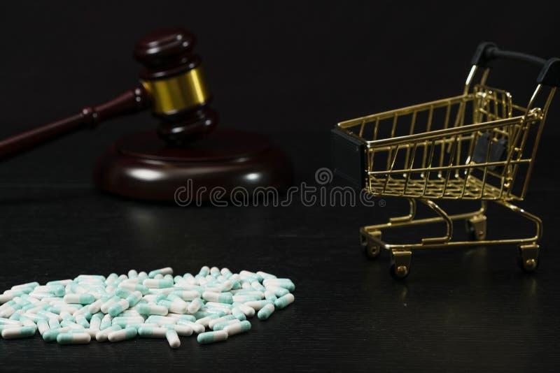 Drogen und Substanzen verboten lizenzfreie stockbilder