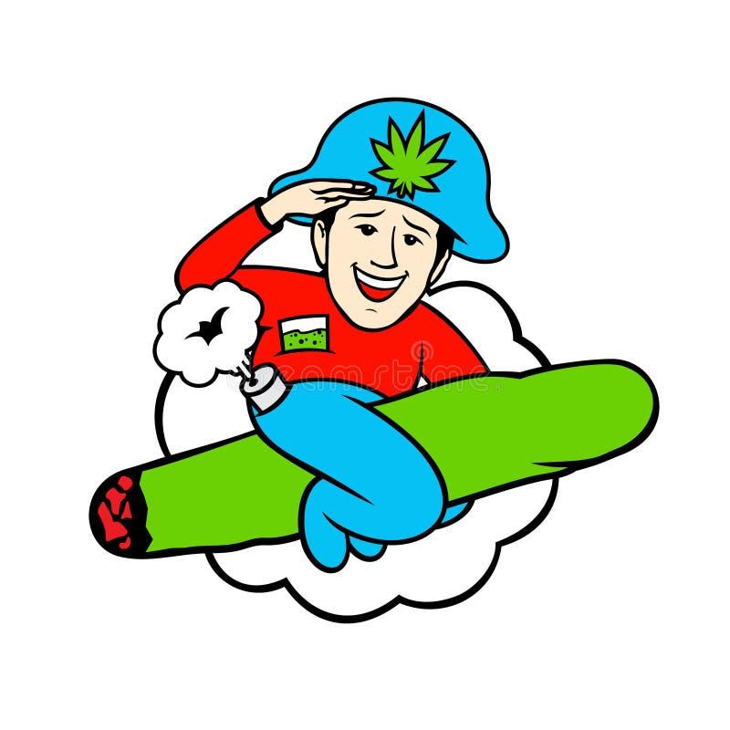 Drogenbaronszeichen lizenzfreie abbildung