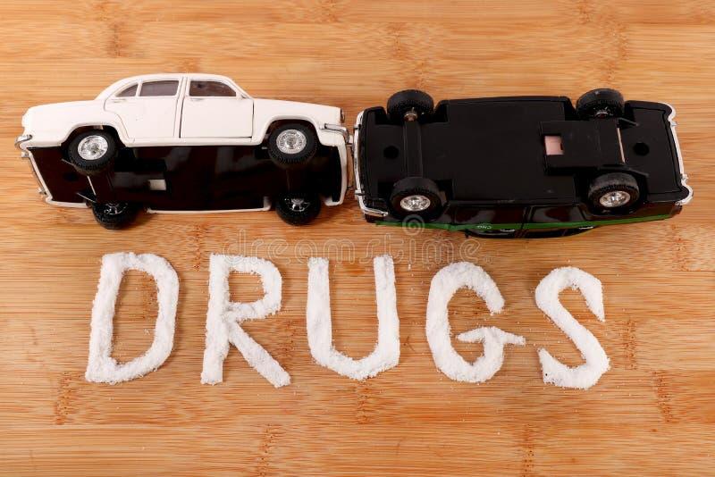 Drogengebrauch und -unfall stockbilder