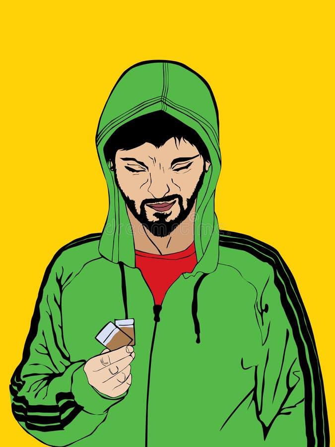 Drogenhändler Stockbild