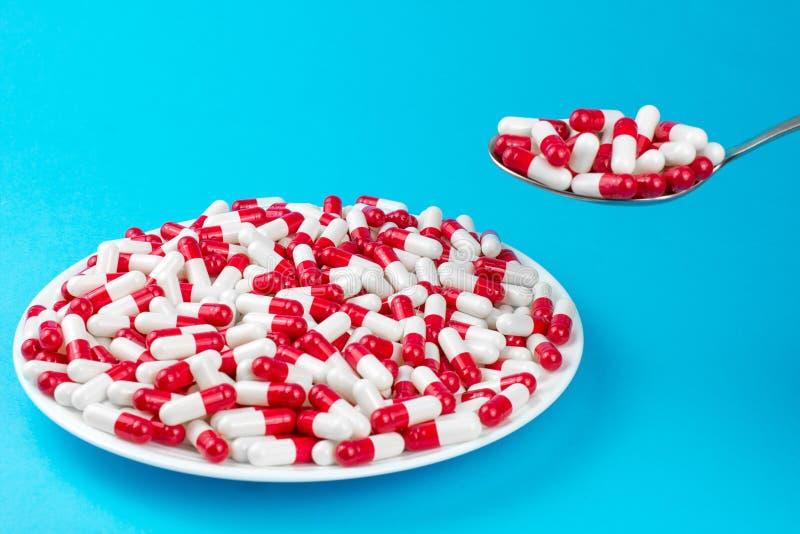 Drogenverordnung f?r Behandlung des Korpulenzkonzeptes stockbilder