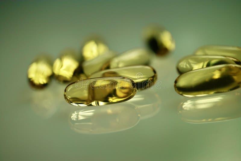 Droger eller vitaminer royaltyfria foton