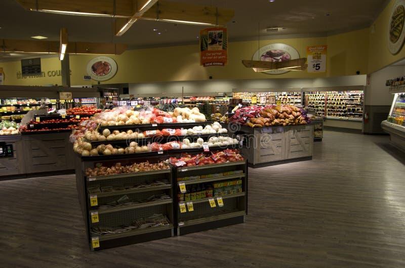 Drogheria del supermercato immagine stock libera da diritti