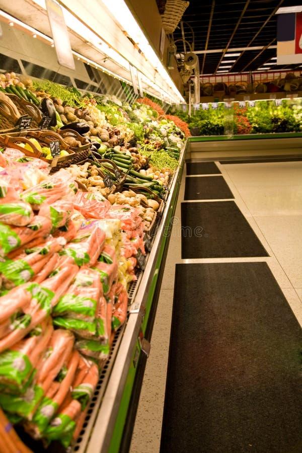 Drogheria o supermercato fotografia stock