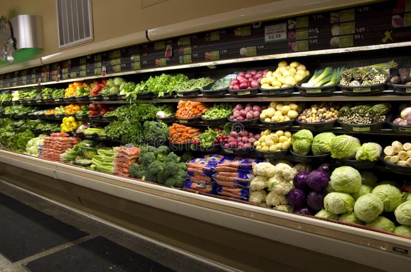 Drogheria sana delle verdure fotografia stock libera da diritti