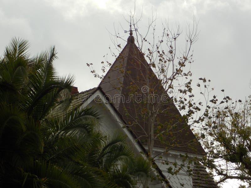 Drogi groszaka dach obrazy royalty free