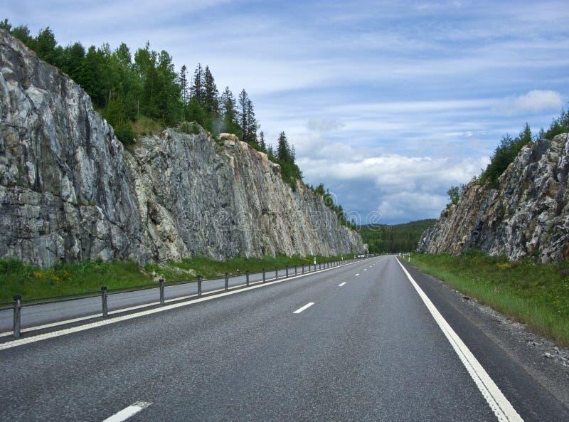 drogi szwedzkie obrazy stock