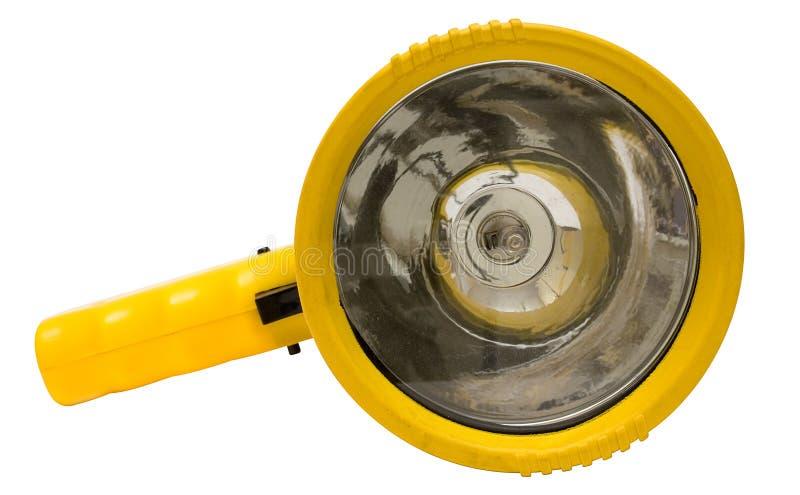 drogi w torchlight żółty obrazy stock