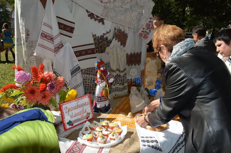 Drogobych Ucrânia ocidental imagens de stock royalty free
