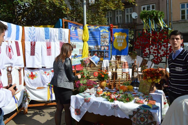 Drogobych Ucrania occidental fotos de archivo libres de regalías