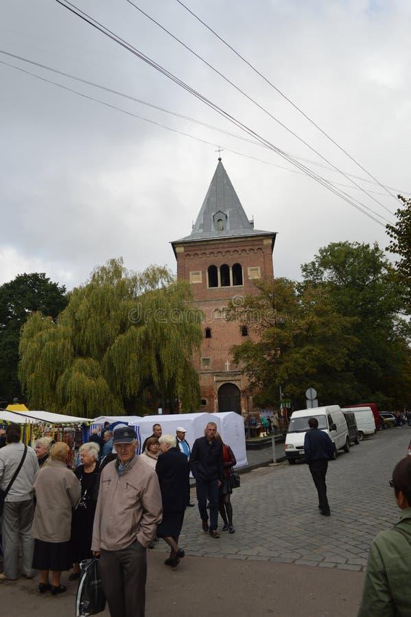 Drogobych Ucrania occidental imágenes de archivo libres de regalías