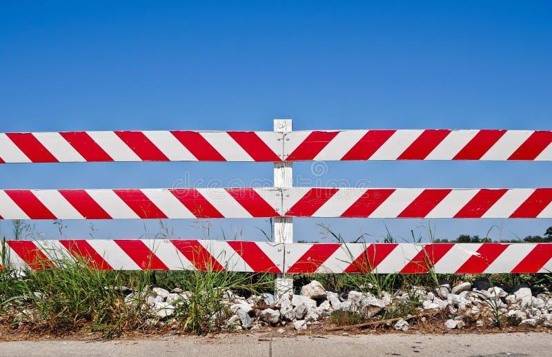 Drogowa bariera zdjęcia stock