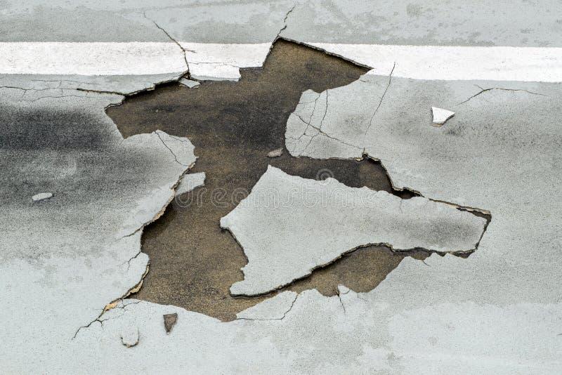 Drogowa szkoda obraz royalty free