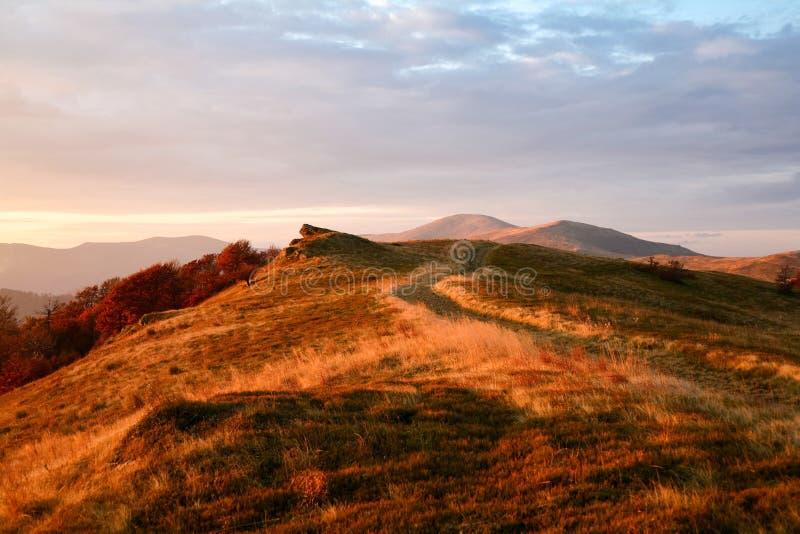 drogowe jesień góry zdjęcie royalty free