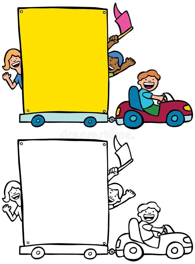 drogowi znaki ilustracja wektor