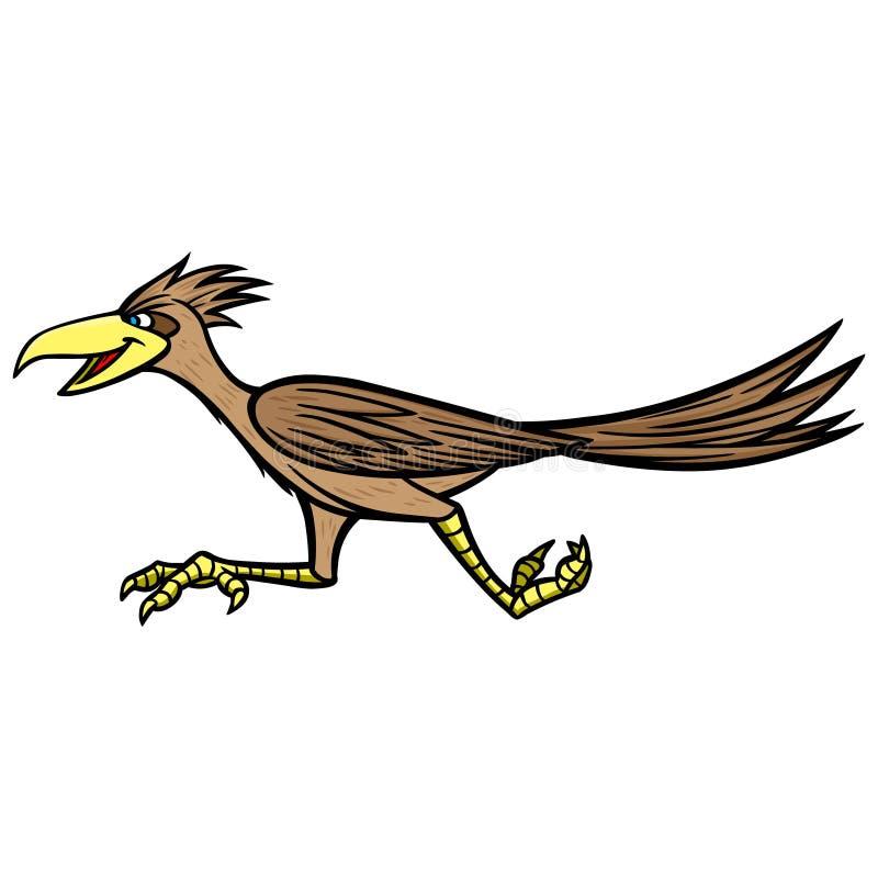 Drogowy biegacz ilustracja wektor