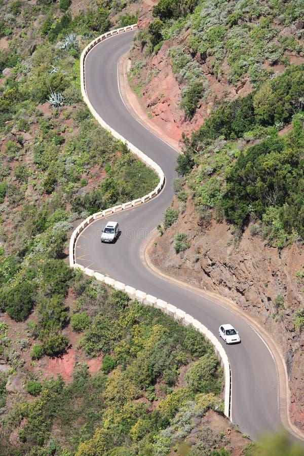 drogowy górski likwidacja obraz stock
