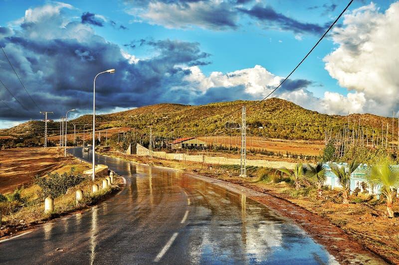 drogowy lghaba w Oran obrazy royalty free