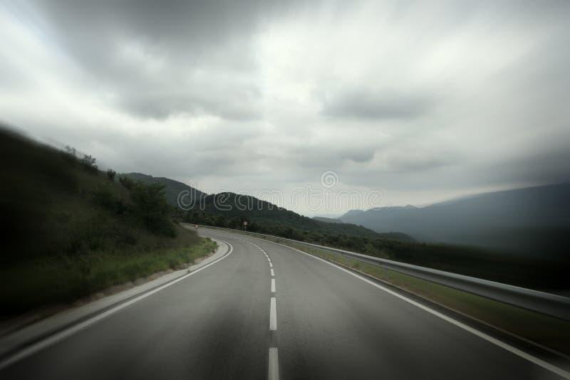 drogowy niebo zdjęcia stock