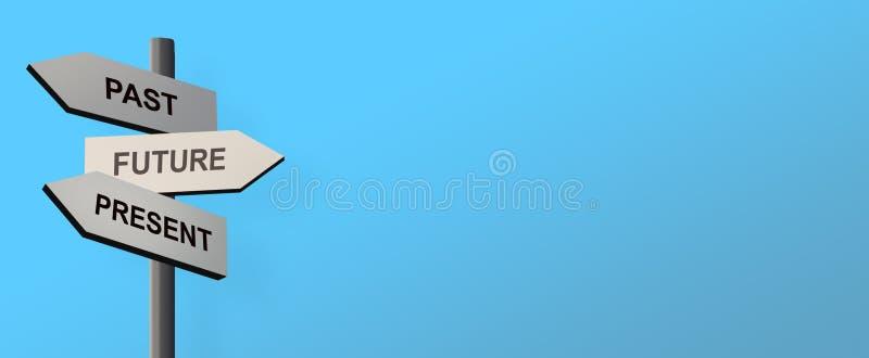 Drogowy pointer z drewnianymi strzałami pokazuje kierunki fotografia royalty free