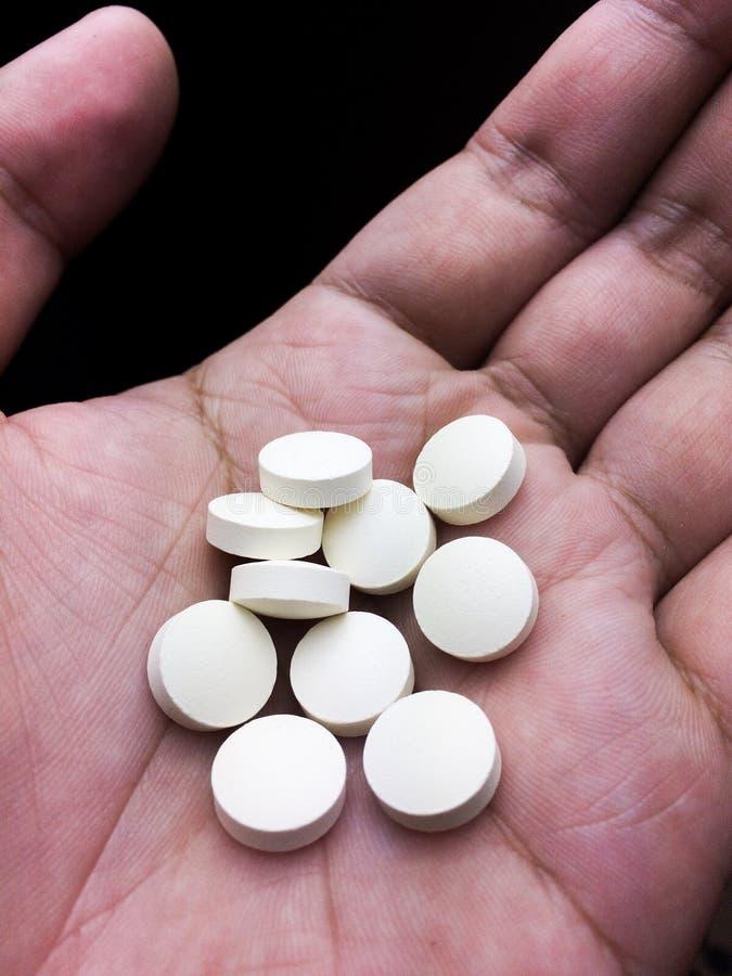 Drogpreventivpiller fotografering för bildbyråer
