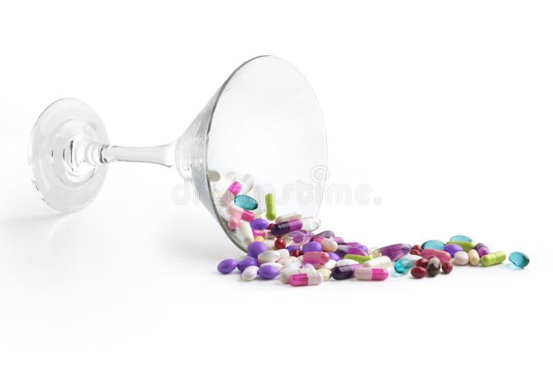 Drogues dispersées images stock