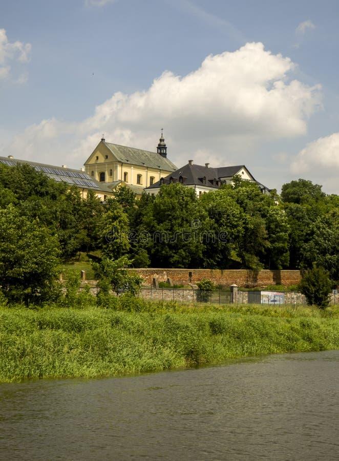 Drohiczyn - eine der oldes Städte in Polen stockfoto