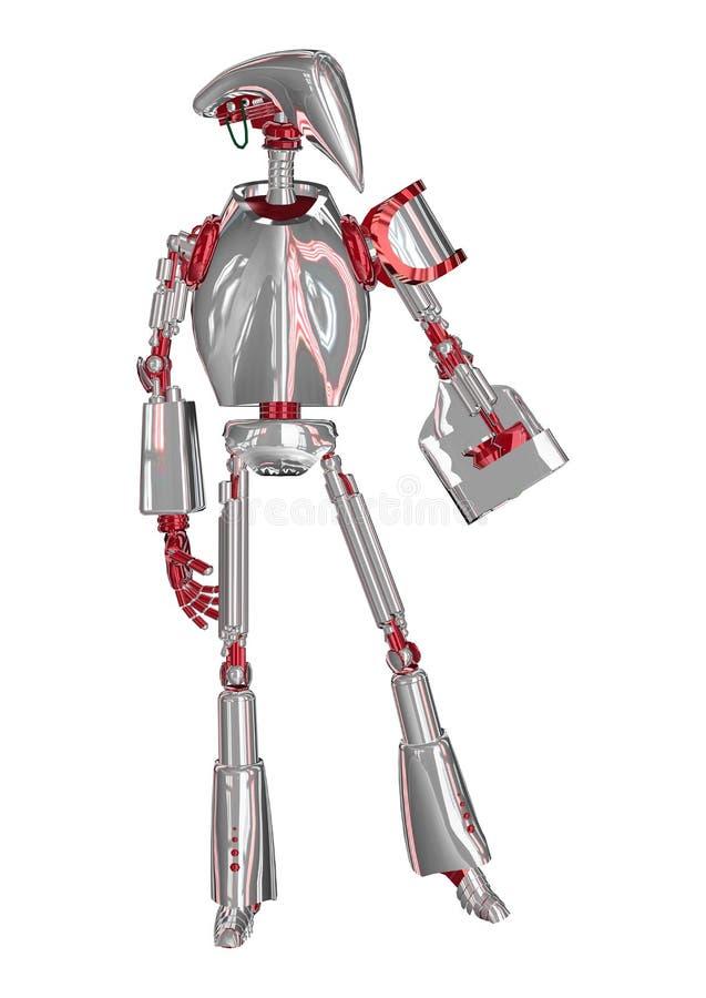 droid 皇族释放例证
