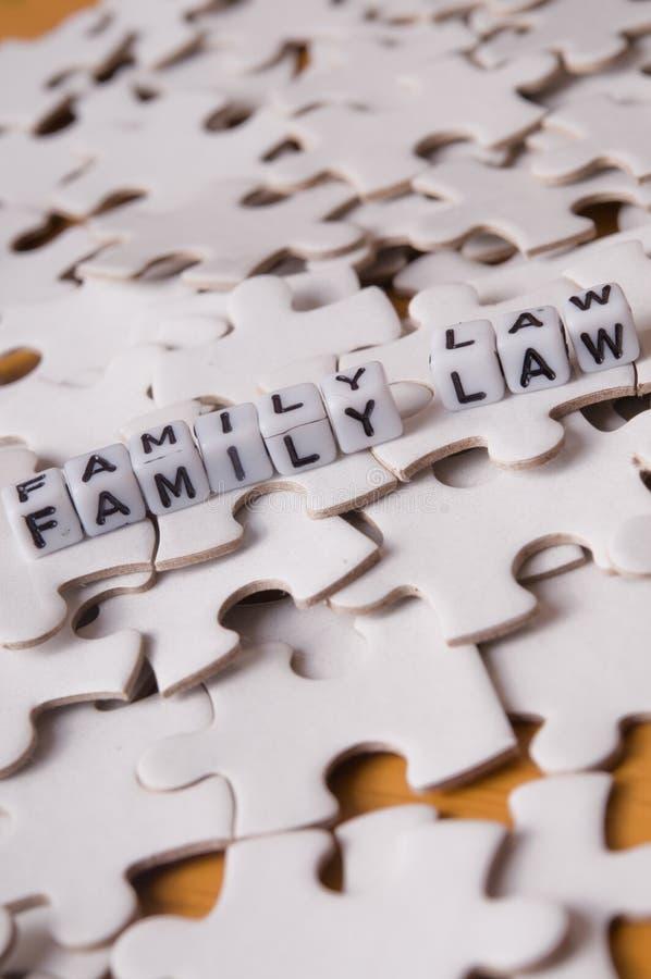 Droit de la famille photo stock