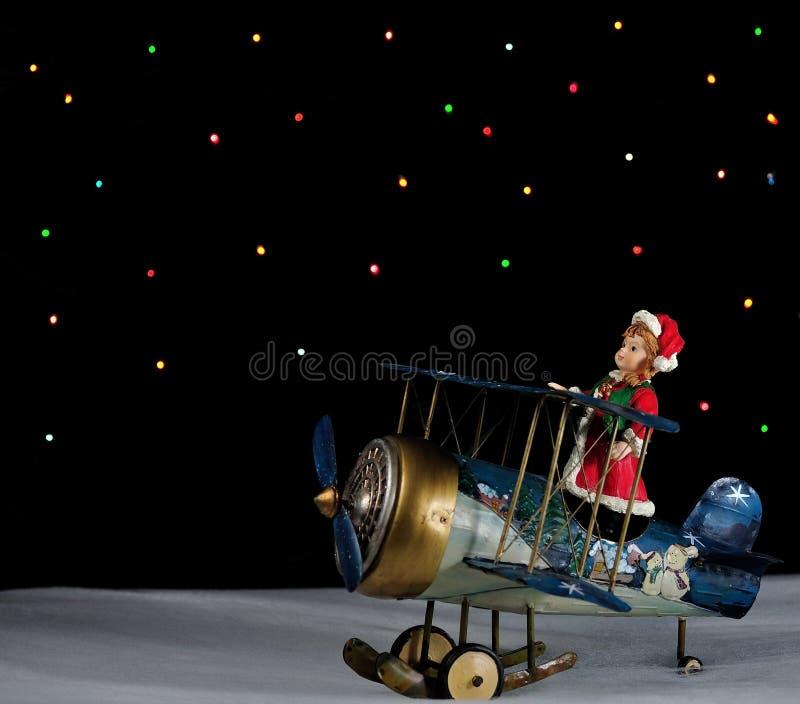 Dromen van Kerstmis royalty-vrije stock afbeelding