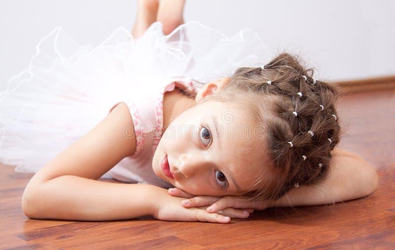 Dromende ballerina stock afbeeldingen