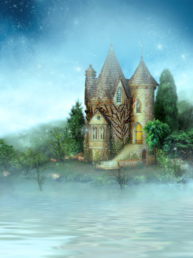Dromenland royalty-vrije illustratie