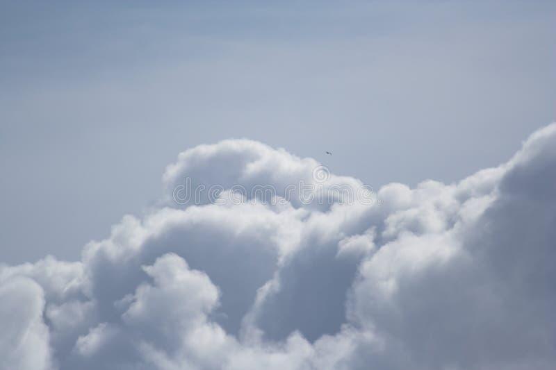 Dromerige wolken royalty-vrije stock foto
